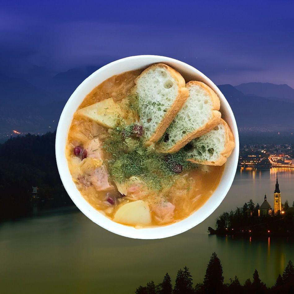 Ricetta Jota Slovena.Jota Sauerkraut Stew Slovenia World Cuisine